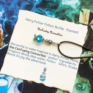 Harry Potter Inspire Confusing Concoction Necklace